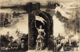 CPA AK Jeanne D'Arc POLITICS (981871) - Stickers