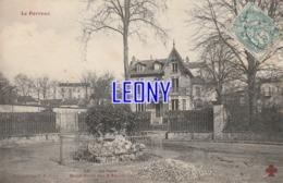 CPA De  LE PERREUX (94) - Le PARC - ROND POINT Des 2 PAVILLONS - Collection F. FLEURY - Le Perreux Sur Marne
