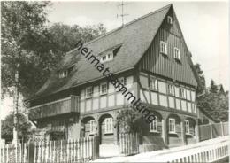 Ebersbach - Steinstraße 1 - Umgebindehaus - Foto-AK Grossformat - Verlag Bruno Scholz Ebersbach - Ebersbach (Loebau/Zittau)