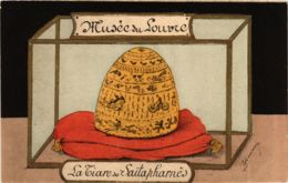CPA AK Musee Du Louvre La Tiare De Saitapharnes POLITICS (575208) - Satirische