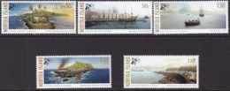 Norfolk Island 2006 Pitcairn Migration Sc 870-74 Mint Never Hinged - Norfolkinsel
