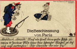CPA AK Beschiessung Von Paris POLITICS (575341) - Satirical