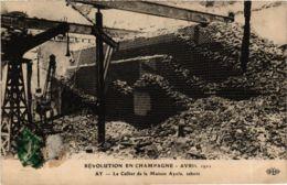 CPA AK Revolution En Champagne 1911 POLITICS (575391) - Evènements