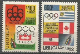 Uruguay,On The Eve Of SOG-Montreal '76 1976.,MNH - Uruguay