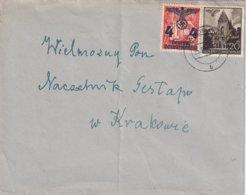 ALLEMAGNE  GENERAL GOUVERNEMENT LETTRE DE ZAKOPANE - Occupation 1938-45