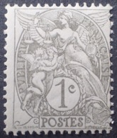 DF50478/681 - 1900 - TYPE BLANC - N°107 NEUF* (IA) - 1900-29 Blanc