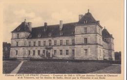 CP 89 Yonne Ancy-le-Franc Château D' Chambre De Diane Voûte Peinte à Fresque An 1578 - Ancy Le Franc