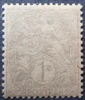 DF50478/682 - 1900 - TYPE BLANC - N°107 NEUF* PAPIER CHAMOIS - 1900-29 Blanc
