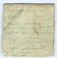 Saône Et Loire S.BONNET.DJOUX Révolutionnaire Linéaire Sur Lettre Pour Chaudes-Aigues Cantal SD Voir Scan - 1701-1800: Voorlopers XVIII