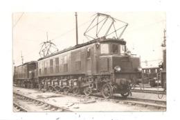 Locomotive- Carte Photo Vilain(D.3439) - Eisenbahnen