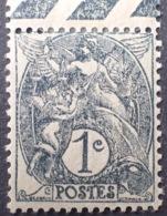DF50478/683 - 1900 - TYPE BLANC - N°107 NEUF* (IB) BdF - 1900-29 Blanc