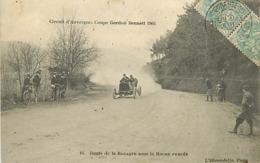 DEPARTEMENT 63 CIRCUIT D 'AUVERGNE - COUPE GARDON BENNETT 1905 - Unclassified