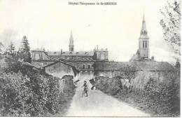 51-Hôpital Temp. De St -Memmie - Carte Neuve - Dos Vierge - Francia