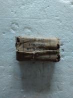 Emballage Papier Contenant 8 Cartouches Lebel. - Armes Neutralisées