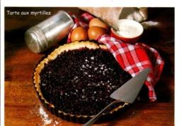 RECETTE - TARTE AUX MYRTILLES - Recipes (cooking)