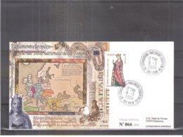 Enveloppe Parlement Européen Strasbourg - Journée Internationale De La Femme - Aliénor D'Aquitaine - 2004 (à Voir) - France