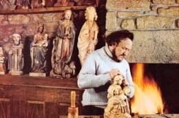 LOCRONAN - Job, Imagier - Sculpteur - Objets Religieux - Locronan