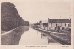 CP 89 Yonne Saint-Vinnemer St Canal Le Brulé Harry - France