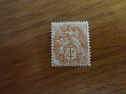 TIMBRE DE  FRANCE  N°110 NEUF SANS CHARNIERE - 1900-29 Blanc