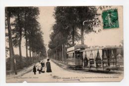 - CPA CESSON (35) - Le Tramway Et La Grande Route De Rennes 1910 (avec Personnages) - Edition Mary-Rousselière 2073 - - Frankreich