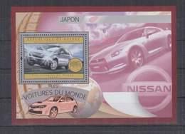 O301. Guinee - MNH - 2012 - Transports - Cars - Japan - Bl - Voitures
