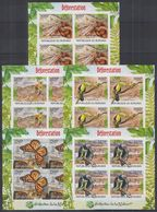 P301. Burundi - MNH - Nature - Animals - Deforestation - Imperf - Plants