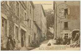 63.LE BRUGERON.n°26760.RUE DE LA POSTE ET HOTEL DU MIDI - Frankreich