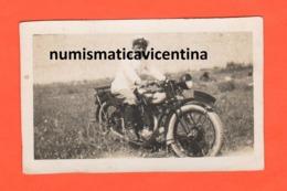 Moto Motorcycle Salona Spalato 1929 Militare Regia Marina Su Moto Da Classificare Scritte Al Retro - Photographs