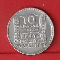 FRANCE 10 FRANCS 1930 - *SILVER*   KM# 878 - (Nº32108) - France