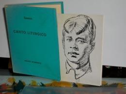 CANTO LITURGICO  Essenin  All'insegna Del Pesce D'oro 1938 - Books, Magazines, Comics