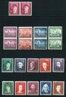 Polonia Ocupación Alemana (4 Series) Nuevo Cat.10,65€ - Ocupación 1938 – 45