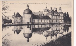CP 89 Yonne Tanlay Château Le Côté De La Pièce D'eau 58 ND - Tanlay