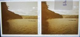 GERARDMER : Le Lac. 1927. Plaque De Verre Stéréoscopique. Positif - Plaques De Verre