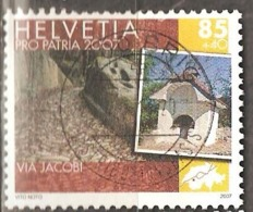 Switzerland: Pro Patria, 1 Used Stamp From A Set, Cultural Routes, 2007, Mi#2007 - Pro Patria