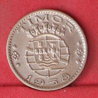 TIMOR 30 CENTAVOS 1958 -    KM# 11 - (Nº32124) - Portugal