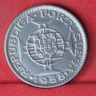 TIMOR 60 CENTAVOS 1958 -    KM# 12 - (Nº32125) - Portugal
