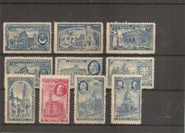 Exposition De Paris -1900 ( Lot De 10 Vignettes Privées Neuves à Voir) - 1900 – Pariis (France)