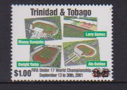 Trinidad & Tobago (2019)  - Set - Overprint  /  Soccer - Futbol - Calcio - Football - FIFA World Cup Under 17 - Coppa Del Mondo