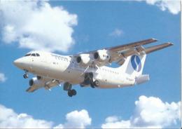 CP AVION AVRO RJ85 SABENA OO-DJR - 1946-....: Era Moderna
