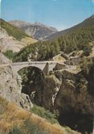 Carte Postale Des Années 60-70 Des Hautes-Alpes -Briançon - Pont D'Asfeld Et Vallée De La Durance - Briancon