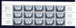 FRANCE LOT DE 15 TIMBRES DE 1955 N 1022 NEUF ** - Unused Stamps