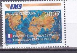 WALLIS ET FUTUNA 2019  ANNIVERSAIRE  EMS MNH - Unused Stamps