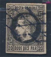 Rumänien 16y Gestempelt 1866 Freimarke - Fürst Karl I. (8688243 - 1858-1880 Fürstentum Moldau