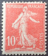 DF50478/709 - 1906 - TYPE SEMEUSE - N°134e (II) Rouge Clair NEUF* - Nuovi