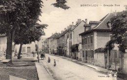 MONTALIEU    --  Grande  Rue - France