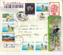 4 R-Briefe Aus Der VR China  / 4 Registered Covers From PR China - 1949 - ... République Populaire
