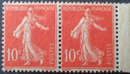 DF50478/711 - 1906 - TYPE SEMEUSE - N°135b (IIA) TIMBRES NEUFS* BdF - Nuovi