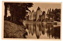 JOSSELIN - Les Bords De L'Oust Et Le Château - Josselin