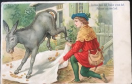 (1575) Tischlein Deck Dich, Eselein Streck Dich, Knüppel Aus Dem Sack - Humour