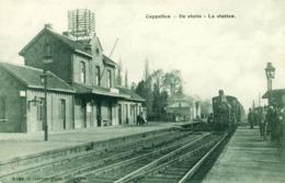 Kapellen - Cappellen - De Statie - La Station - Trein - Gare - Train - Hoelen 4184 - 1911 - Kapellen